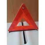 Warning Triangle Reflector with PVC Reflector and Steel Stand