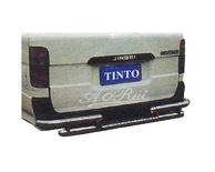 Stainless Steel Rear Guard for Toyota Hiace for year 1989 - 2004