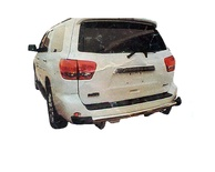 Stainless Steel Rear Guard for Toyota Fortuner for year 2007 - 2009