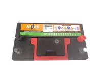 45Amps ATLAS Left Dry Battery With Small Terminals 12V