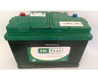 70 Amps Large Terminals 12V Left Wet Car Battery by HiFase with Threaded Caps
