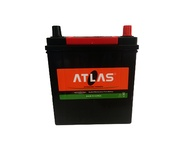 35AH ATLAS Left Dry Car Battery With Small Terminals 12V