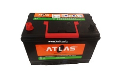 70Amps ATLAS Dry Car Battery With Large Terminals12V